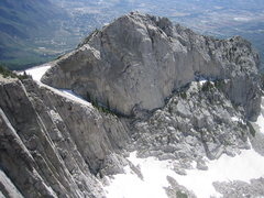 Rock Climbing Photo: Collin's Highway and the Question Mark Wall, 4 Jul...