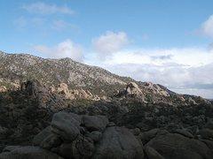 Rock Climbing Photo: Caruthers Canyon, Mojave National Preserve