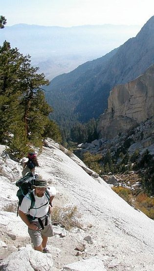 Rock Climbing Photo: The Ebersbacher Ledges on the North Fork approach,...