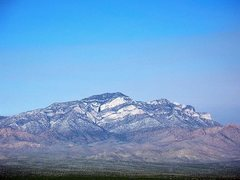 Rock Climbing Photo: Clark Mountain, Mojave National Preserve
