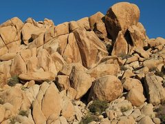 Rock Climbing Photo: The obvious leaning corner is The Condor (5.12a), ...