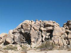 Rock Climbing Photo: The Monkey's Paw Crag, Joshua Tree NP