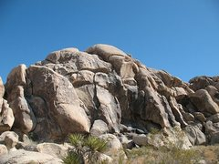 Rock Climbing Photo: The Monkey's Paw, Joshua Tree NP