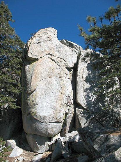 Rock Climbing Photo: The Jewel (5.12), Black Mountain