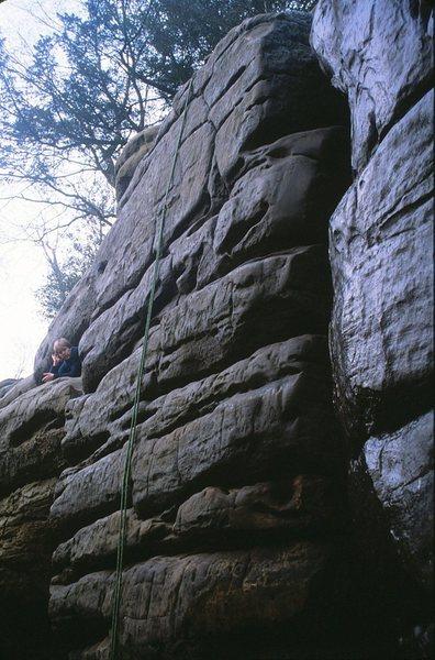 Rock Climbing Photo: Hell Wall Topo