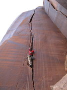 Rock Climbing Photo: this route! i cant say all i would like to cause ....