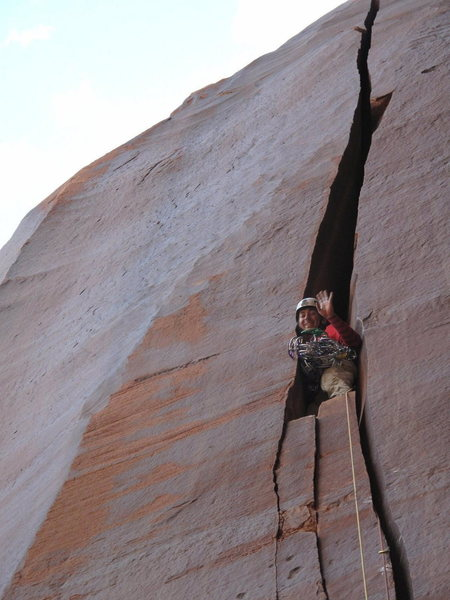 Rock Climbing Photo: start the fun......