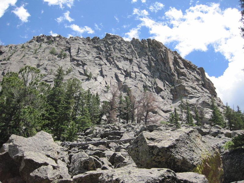 Second Buttress right side.