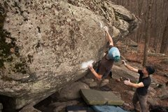 Rock Climbing Photo: Allen on AHR V8