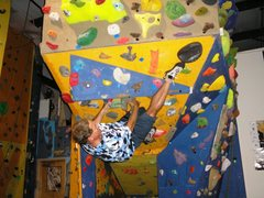 Rock Climbing Photo: throw the heel hook about now