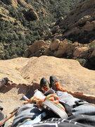 Rock Climbing Photo: 0ne more to the top. fun?