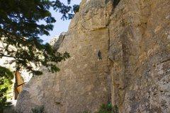 Rock Climbing Photo: Denial Wall!!