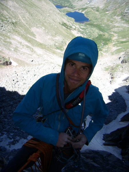 Rock Climbing Photo: Jordon Griffler on Good Evans.  July 5th 2010.