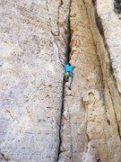 Rock Climbing Photo: At the bottom headed up