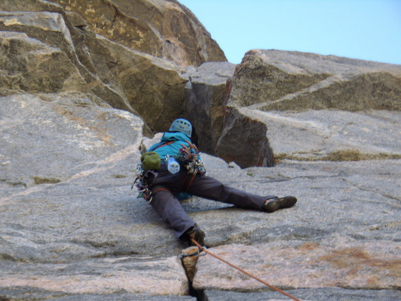 Rock Climbing Photo: Jordon on our 2nd pitch of Good Evans.  July 5th 2...