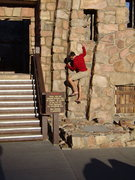 Rock Climbing Photo: Jordon demonstrating exceptional reading skills.  ...