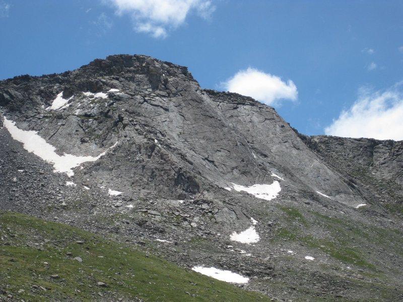Rock Climbing Photo: 2nd Apron.