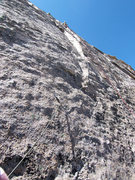 Rock Climbing Photo: One of the best pitches in the Park....