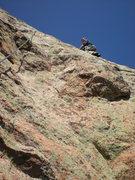 Rock Climbing Photo: beginning of pitch 6