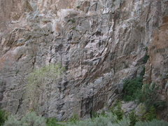 Rock Climbing Photo: Egyptian area (egyptian route behind the tree).