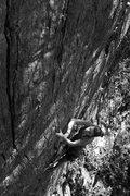 Rock Climbing Photo: hannah cruising up yoda on a way-too-hot day in ju...