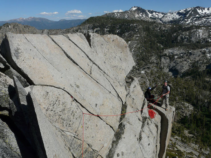Rock Climbing Photo: Donny and Natalie at a block in the air.  Excellen...