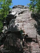 Rock Climbing Photo: Angie