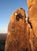 Rock Climbing Photo: New routes going up, left and right. Photo by Blit...