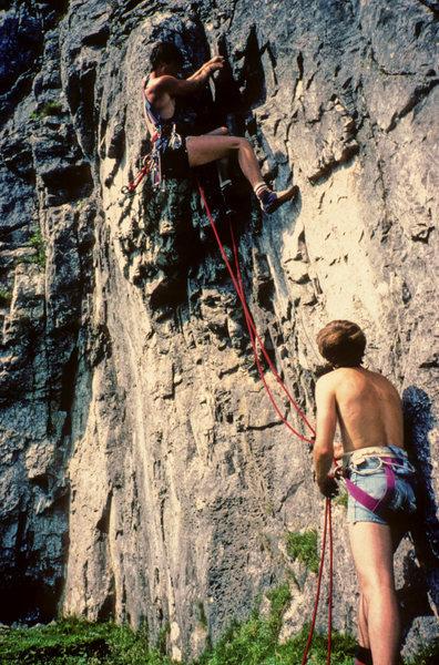 Rock Climbing Photo: Graphite Groove, Attermire Scar