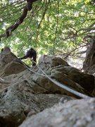 Rock Climbing Photo: out on a limb