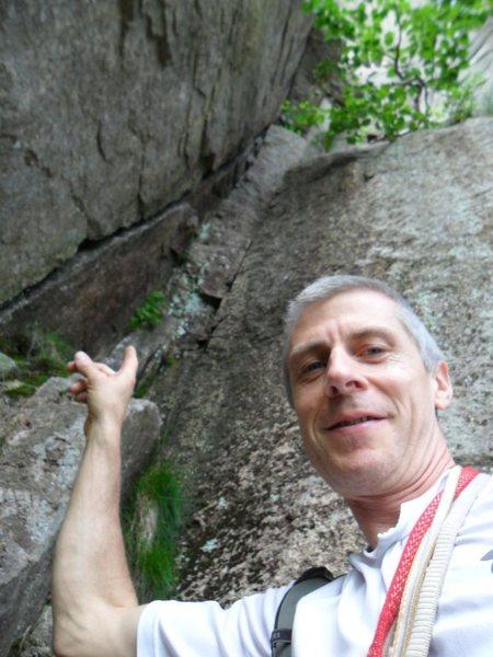 Rock Climbing Photo: Recompense p3