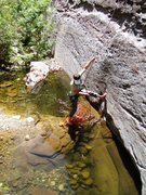 Rock Climbing Photo: Dark Shadows, the best 5.8 evar.