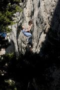 Rock Climbing Photo: Starting up Hip Boot Romance.