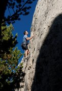 Rock Climbing Photo: The fun mid section.