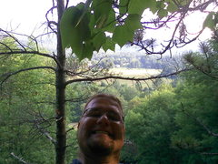 Rock Climbing Photo: top of Shealyn's Way