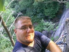 Rock Climbing Photo: top of shealyn's way looking down