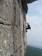 Rock Climbing Photo: Mitchal Miller shoots his wife on CCK