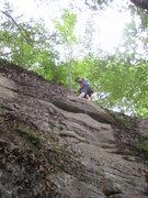 Rock Climbing Photo: Me at the anchors