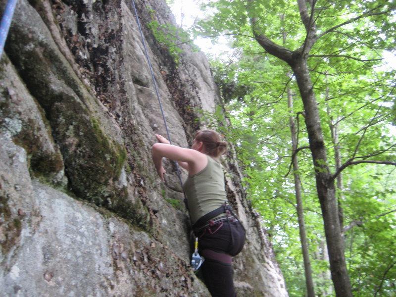 Rock Climbing Photo: Court Climbing