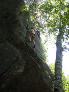 Rock Climbing Photo: Lee Leading Darth Vader, Nicole Kurth leads Yoda i...