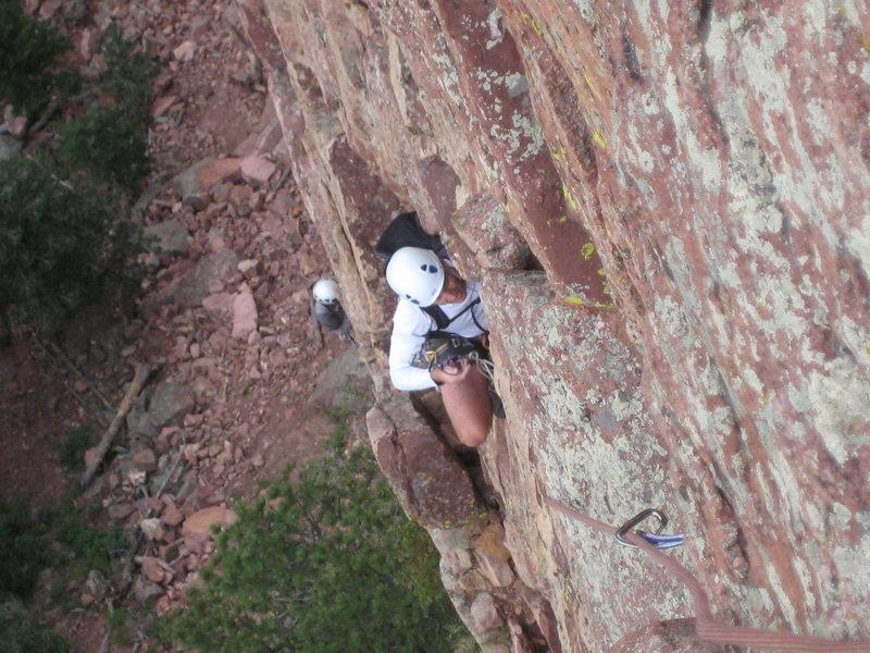 Rock Climbing Photo: Gambit