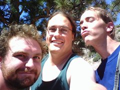 Rock Climbing Photo: The Klye(s) and I outside Casper Wyoming, It was F...