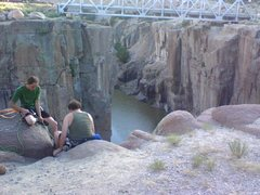 Rock Climbing Photo: How I found the Kyle(s)