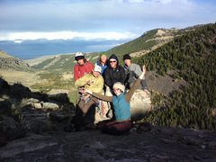 Rock Climbing Photo: Atop the Gneiss outcropping at the SW end of Sinks...
