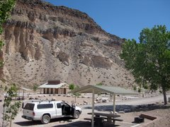 Rock Climbing Photo: Kershaw-Ryan campground, a couple of minutes from ...
