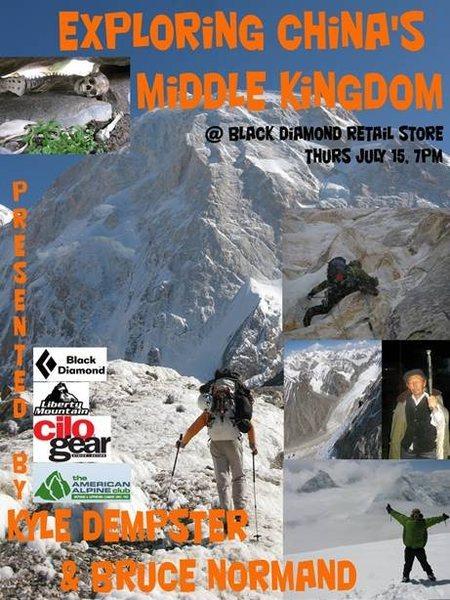 Rock Climbing Photo: Black Diamond slide presentation Thursday, July 15...