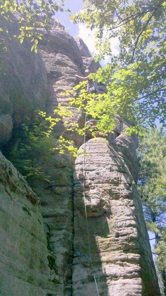Rock Climbing Photo: Rhoads!
