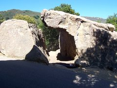 Rock Climbing Photo: Street Corner (V0-) glowing in the afternoon sun. ...