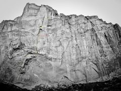 Rock Climbing Photo: Picnic Lunch Wall- view full size for detail. Yell...