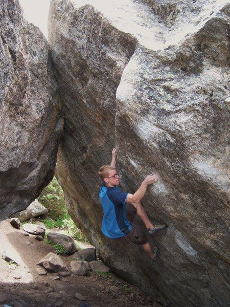 Rock Climbing Photo: Bierstadt.